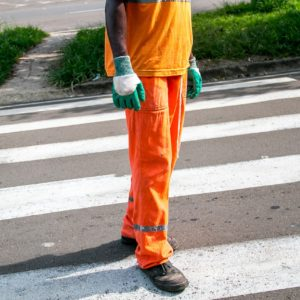 street sweepers hold jobs that no longer exist