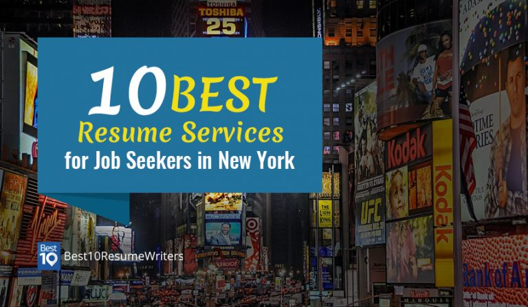 Best10 Resume Writers offers a list of the best resume writers for those aspiring New York jobseekers as seen in New York City Times Square
