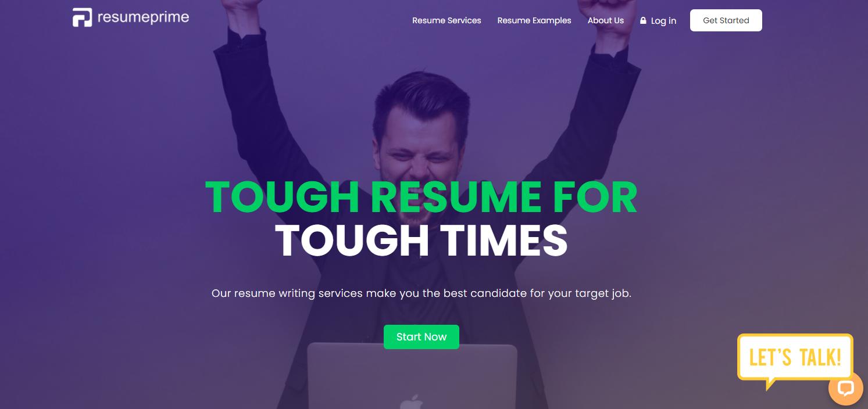 Man raising his hands celebrating job hunt success