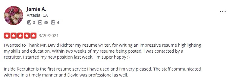10 Best Sales and Marketing Resume Writing Services: Insider Recruiter Review (Yelp)