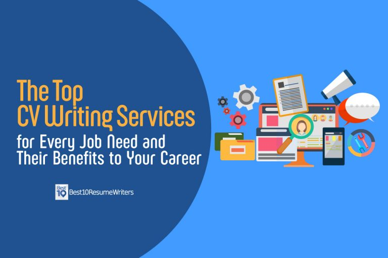 Featured image of the top CV writing services blog