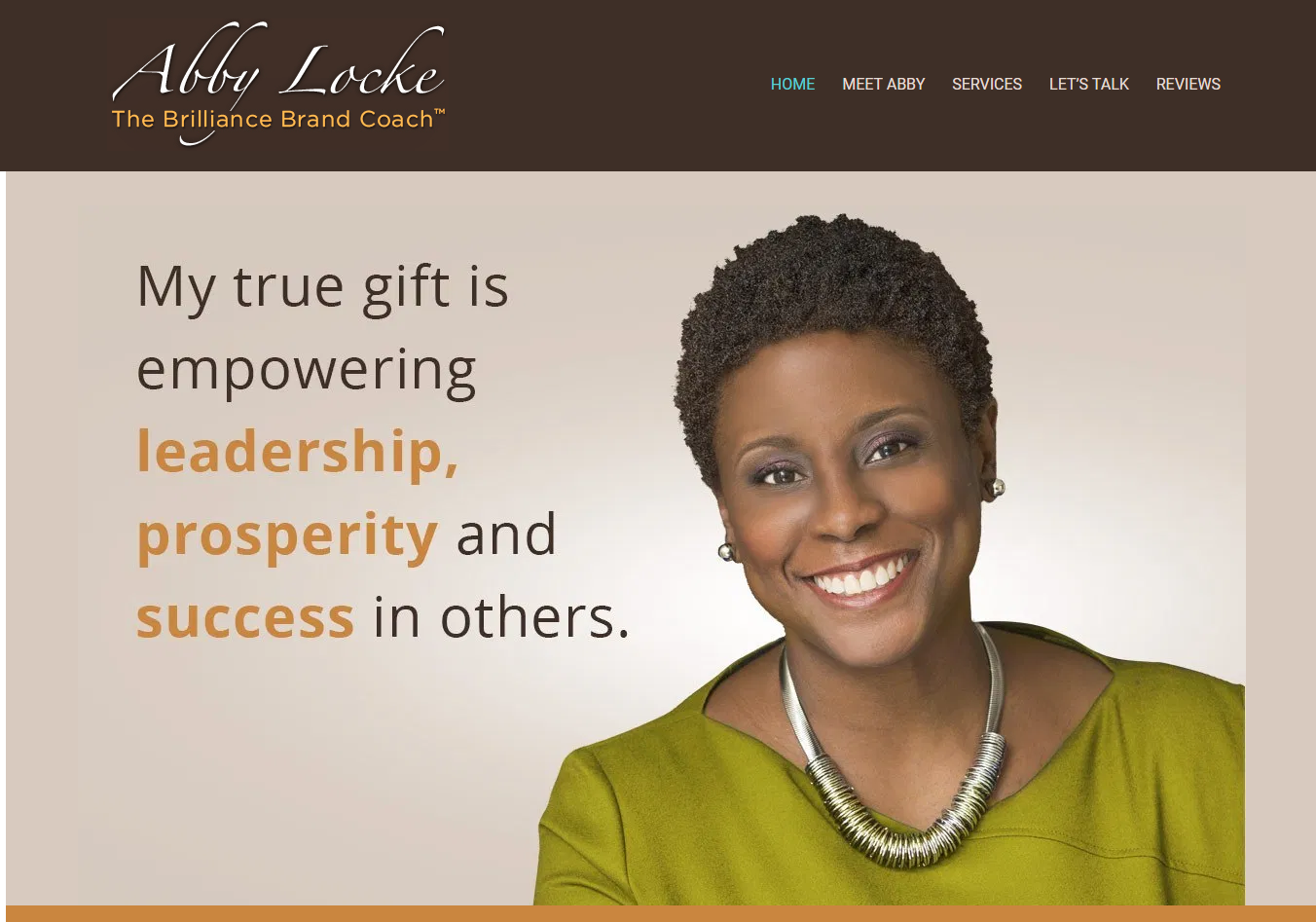 Header image of Abby Locke offering best executive resume writing services