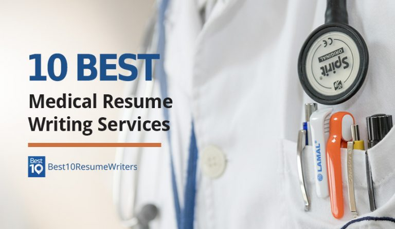 10 Best Medical Resume Writing Services for doctor in uniform with stethoscope and pens in the pocket of his white suit