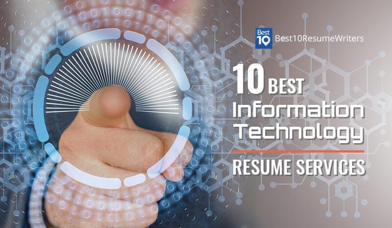 10 best information technology resume services banner