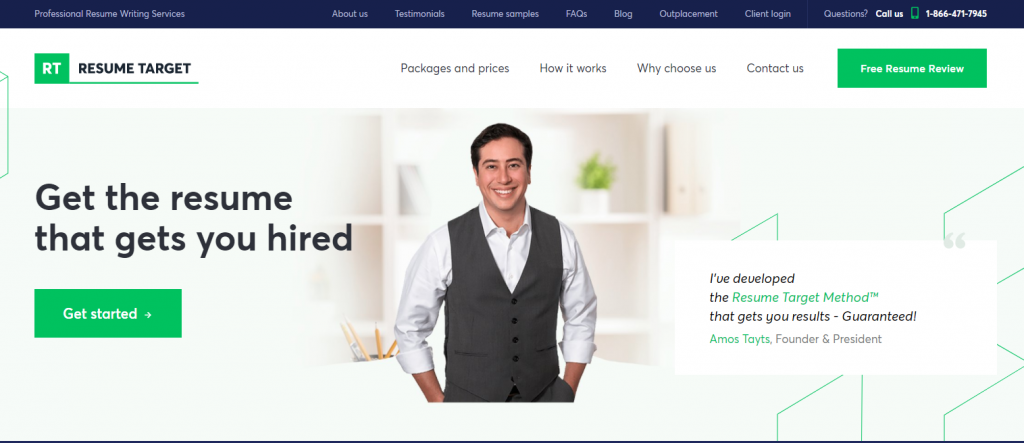 Resume Target Header executive man whose hands are in his pocket