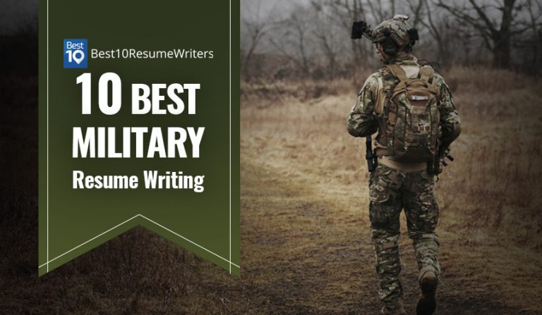 10 Best Military Resume Writing Services (2021)