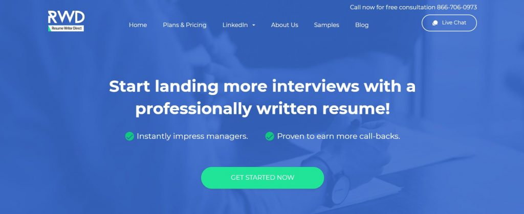Federal Resume Writing Service in 2021 – Resume Writer Direct Homepage