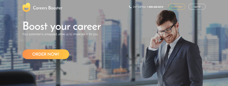 best IT resume careers booster banner