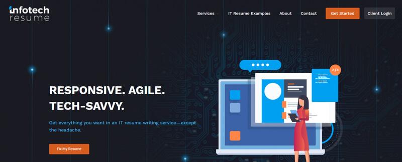 best IT resume infotech resume banner