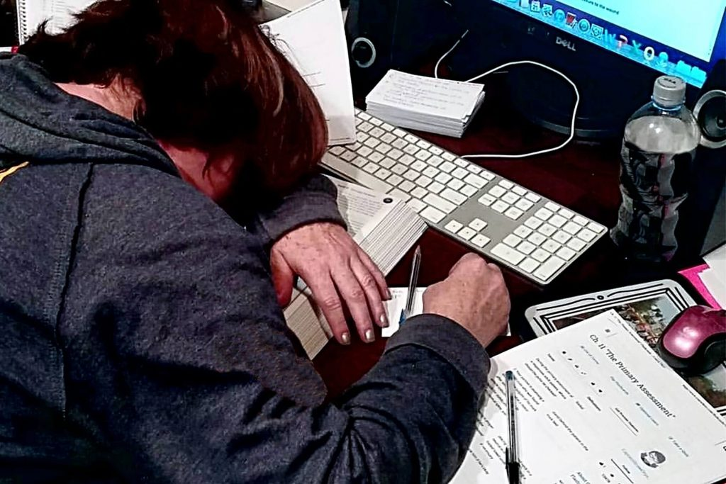 fatigue is a sign to look for a new job